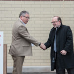 John Spaulding and NMU President Erickson