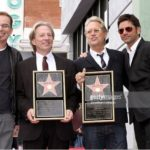 Dewey and Gerry celebrate their star on the Hollywood Walk of fame with friends Billy Bob Thornton and John Stamos
