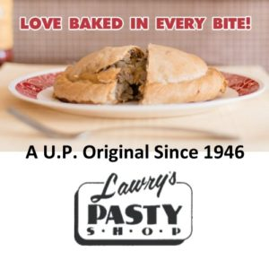 Enjoy 2 Classic Pasties from Lawry's in Marquette