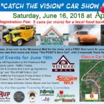 """Save the Date for the """"Catch the Vision"""" Car Show and Cruise on June 16th."""
