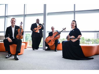 Bergonzi Quartet Performs Childrens Concert at Portage Library June 23rd