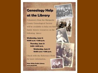 Lynette Suckow on 8th Day Explaining Extensive Genealogy Help Available at PWPL