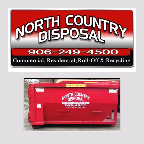 Don't worry about the waste, North Country will take care of it for you!