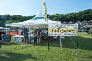 Try the Mexican Corn on the Cob from Outlanders!