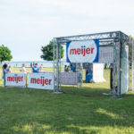 Meijer sponsored the event's family fun zone!