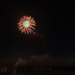 One of my favorite fireworks of the night.