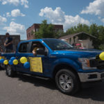 The Pioneer Days Parade in Negaunee,MI.