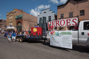 THE MCMCF Heroes float was so impressive!