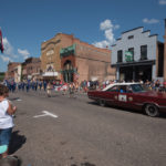 There was a great turn out this morning for the parade.