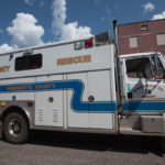 The Marquette County Emergency Rescue Vehicle.
