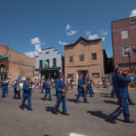 The Negaunee City Band was up front for the parade. They sounded great.