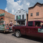 The Smarty's Saloon Float right outside of Smarty's on Iron Street!