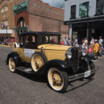 This beautiful vehicle is part of the Negaunee Historic Society.