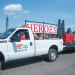 The Marquette County Medical Care Facility Heroes Float.
