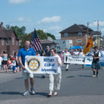 Rotary Club of Ishpeming was out today too.