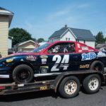 The 103-FXD race car made an appearance.