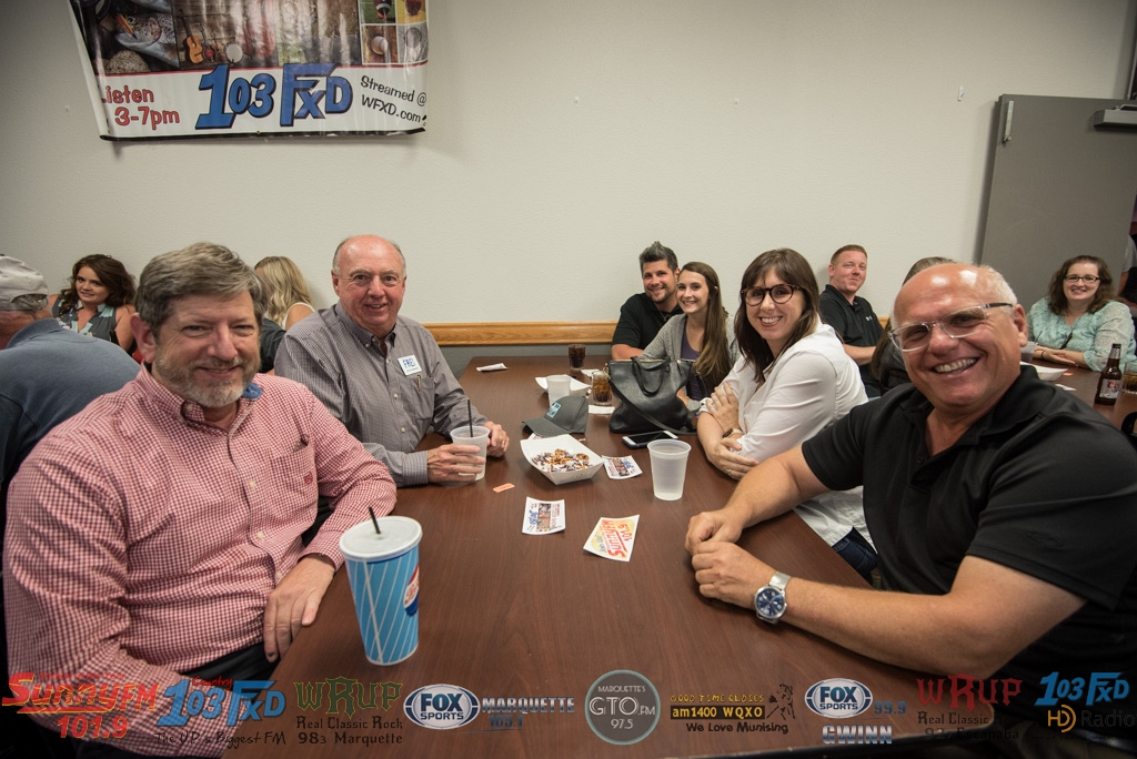 Frei Chevrolet owner Jim Grundstrom joined the table.