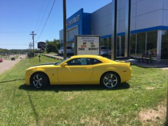 Check out this awesome Camaro at Frei Chevy