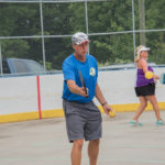 Thanks to the instructor for hosting this pickleball tournament.