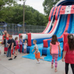 Thanks to Double Trouble DJ for the bounce houses.