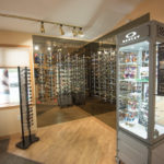 Check out the wall of Sunglasses at Superior Eye.