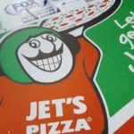 Free Jet's Pizza during the broadcast at Frei Chevrolet.