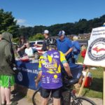 The Marquette County Veterans Alliance was on site to give out candy and goodies