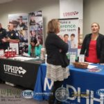 UPHP was a very popular booth along with The U.S. Customs and Border Protection table.