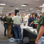 There was a great turn out this event for students and businesses!