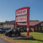 Meyer Yamaha is located right off US-41 in West Ishpeming.