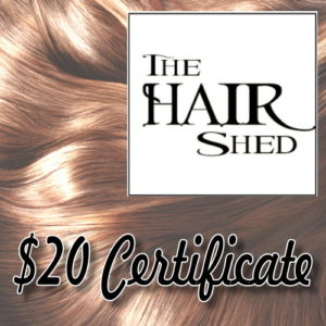 The Hair Shed is located in Chippewa Square in Marquette.