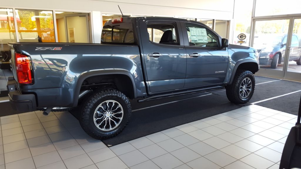 Get a shiny new truck like this one at Frei Chevrolet