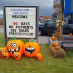 Frei Chevy is getting into the Halloween spirit
