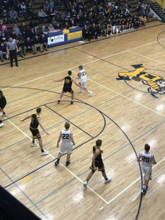 Negaunee's Drew Lindberg Keeps Ball from Mountaineer