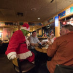 The Grinch found some new friends at Applebee's.