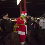 The Sheriff's Department arresting the Grinch.