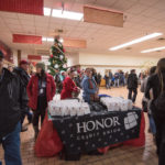 Honor Credit Union with their popcorn and coozies.