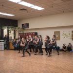 New Attitudes Dance Studio dancing in the Mall.