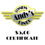 Andy's Diner is right off Ludington Street in Escanaba.