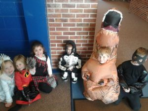 Holden with his Friends at School After the Halloween Parade 2018, The Sunny Morning Show