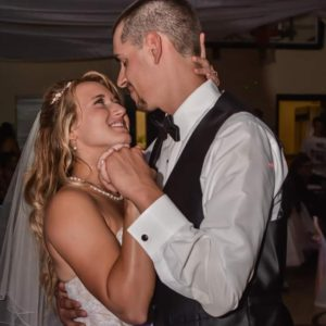 Kelsey and her Husband, Cody, at their Wedding in August of 2017, The Sunny Morning Show