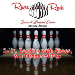 Enjoy some time with the family at River Rock Lanes.