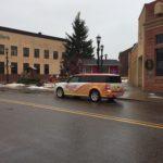 SunnyFM car in Ishpeming