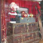 Christmas store display