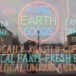 Rare Earth Goods Window