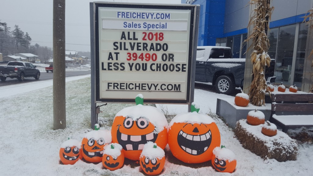 Frei Chevy is in the holiday mood!