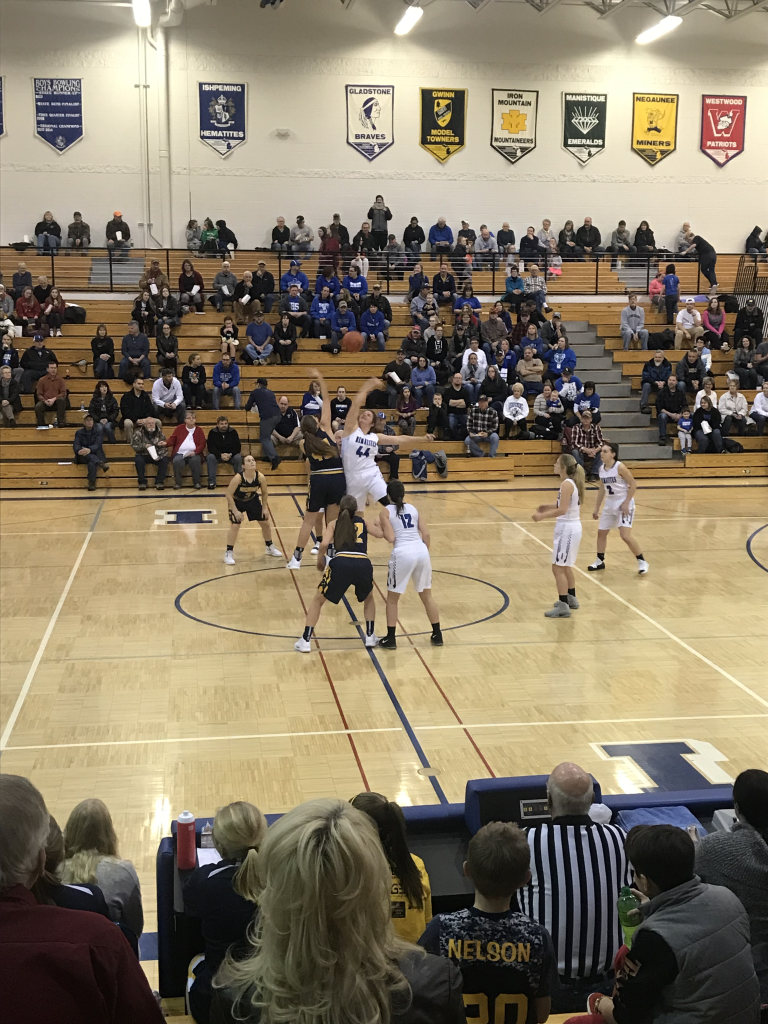 The Negaunee Miners girls basketball team faces off against the Ishpeming Hematites on Thursday, December 20th, 2018 on Sunny.FM