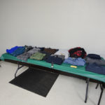 We had lots of clothing donations this year.