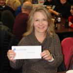 Lori Ring from Gwinn, winner of the Kelly Clarkson tickets.