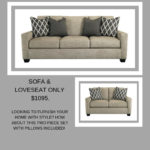 Try out this Crislyn Sofa and Loveseat set at Ashley HomeStore.